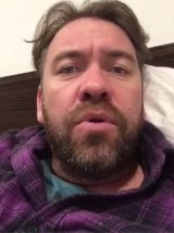 """Actor Brendan Cowell calls on the Prime Minister to """"show some balls""""."""