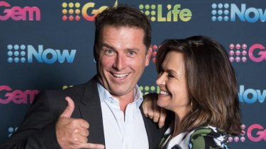 On top of ratings ... Karl Stefanovic and Lisa Wilkinson, hosts of Channel Nine's <i>Today</i> breakfast show.