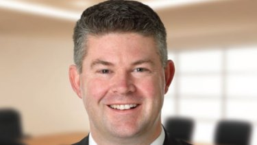 Disgraced former state director Damien Mantach will be eligible for parole after two years and eight months.