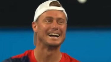 Hewitt took the advice in good spirit and it proved to be right