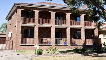 The four-bedroom house in Abbotsbury registered to Dr Eman Sharobeem that has been frozen by the NSW Crime Commission.