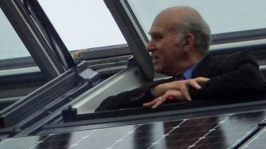 Former Liberal Democrat MP and secretary of state for business Sir Vince Cable.