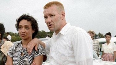 Ruth Negga and Joel Edgerton in the touching and honest film <i>Loving</i>.