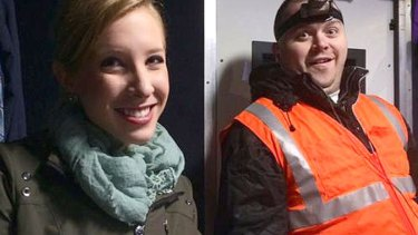 Shot dead … Journalists Alison Parker and Adam Ward had worked together regularly, posting photos on the job to Twitter.