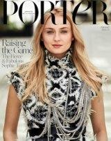 Turner on the cover of Porter magazine.