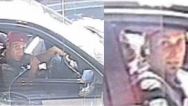 The CCTV footage of Hassan Abdul-Rahim at the Essendon McDonald's.