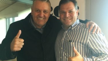 2GB radio host Ray Hadley supported Shooters, Fishers and Farmers candidate for Orange, Philip Donato.