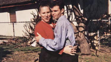 Man of mystery … Dallas Gwilliam in his teens with an early girlfriend.
