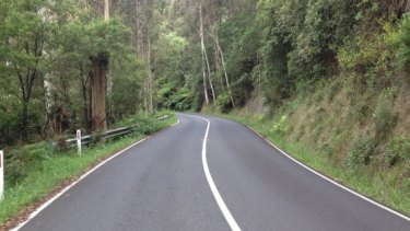 The road rage incident happened on Mount Dandenong Tourist Road.