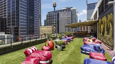 Roof with a view: 309 George Street, Sydney.