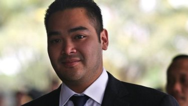 Against the death penalty: 26-year-old Indonesian MP Prananda Surya Paloh.