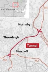 Transurban's nine-kilometre NorthConnex tunnel