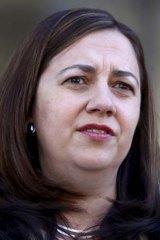 Queensland opposition leader Anastasia Palaszczuk.