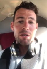 Mark Cavendish begs for 'vile' abuse to stop in a video posted to Twitter.