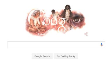 Google's Australia Day artwork.
