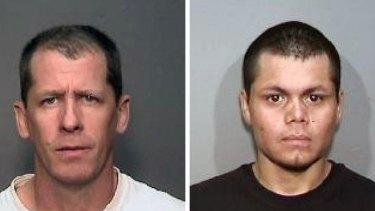 Accused: Steven Dean Gordon, 45, left, and Franc Cano, 27.