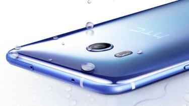 The U11 uses Edge Sense technology based around sensors built into the side of the phone.