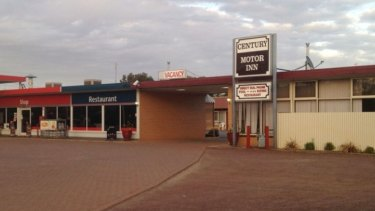 The Century Motor Inn in Finley which was paid $100,000 by Unique International College