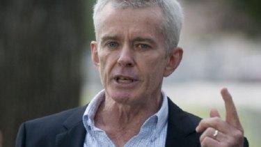 Wants proof: Senator Malcolm Roberts.