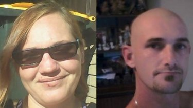 Peta-Ann Francis, mother of Nikki Francis-Coslovich, and her boyfriend John Torney, who is accused of the toddler's murder.