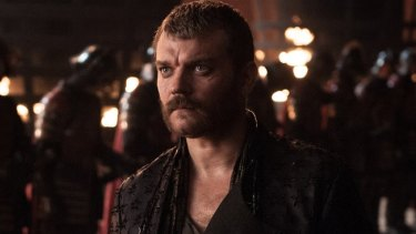 Euron Greyjoy's marriage proposal to Cersei Lannister on Game of Thrones:  'At least I've got two hands'.