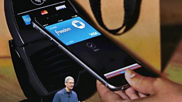 Apple chief executive Tim Cook says Apple Pay is more secure than traditional credit card systems.