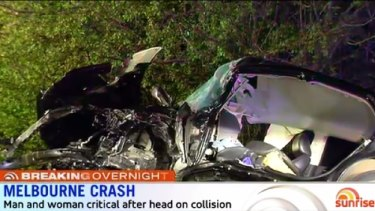 Two drivers are fighting for their lives in hospital after the Cranbourne crash.