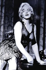 Dressed by Orry-Kelly ... Marilyn Monroe in <i>Some Like It Hot</i>.