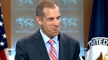 US State Department spokesman Mark Toner.