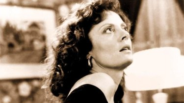 Sarandon playing Annie Savoy in