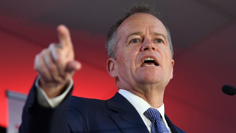Labor's Bill Shorten ramps up class warfare with attacks on BHP, business