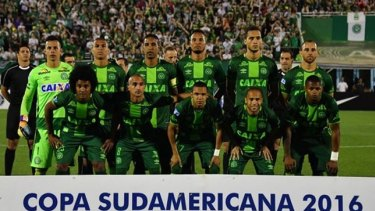 Just three players from Brazil's Chapecoense football team survived.