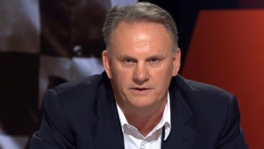 """Mark Latham believes he has a """"right to offend""""."""