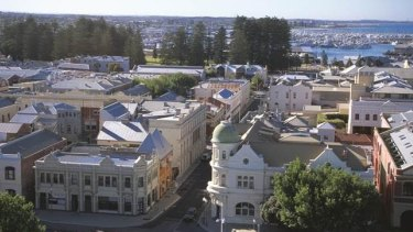 The West End of Fremantle could be under water by 2100.