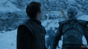 Bran Stark is all grown up and having run-ins with White Walkers.