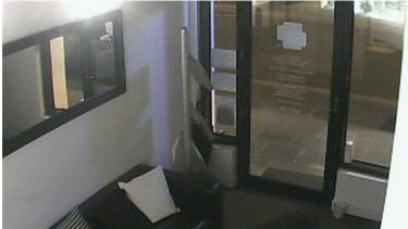 An image taken from a webcam inside a building in Sydney that was leaked on the Russian site.