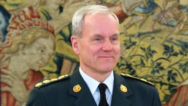 NATO military committee chairman General Knud Bartels.