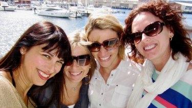 Lillian Nejad,Kristine Dalton, Claudia Gardiner and Julia Rivalland.
