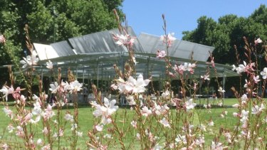 The first MPavilion in 2014.
