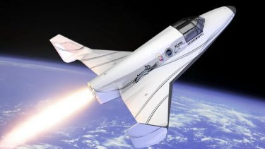 XCOR will offer suborbital flights that will reach the edge of space, about 100km above the ground.