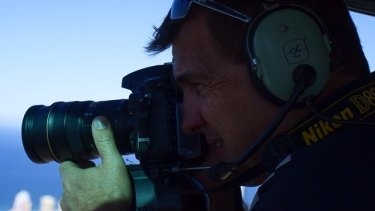 Experienced aerial photographer Chris Powell died when the crane collapsed on Monday.