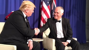 Donald Trump and Malcolm Turnbull. Who is a conservative and who isn't?