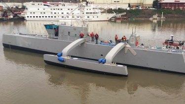 Sea Hunter, the drone ship.