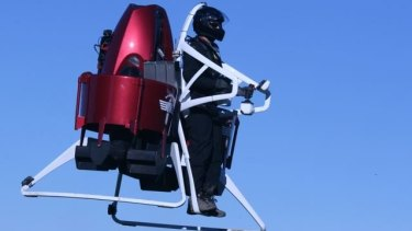 """New Zealand company Martin Aircraft Co also claims to have made a jetpack, although it is not jet-powered and stretches the definition of the word """"pack""""."""
