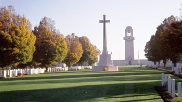 Villers-Bretonneux Military Cemetery.