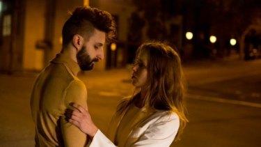 Ross De Winter and Anneli Bjorasen in <I>Suburbia</I>, at Melbourne Fringe Festival.