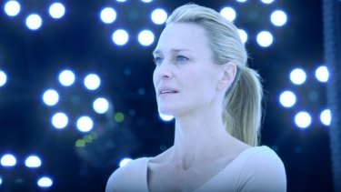 Time to experiment: Robin Wright in <i>The Congress</i>.