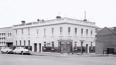 The Carlton pub was almost 100 years old when this photo was taken in 1957.