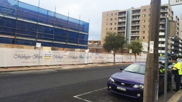 The Mehajer development in John Street, Lidcombe.