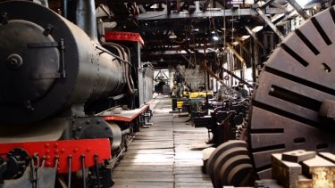 "The Yarloop museum was described as ""one of the finest examples of steam age engineering in the world""."